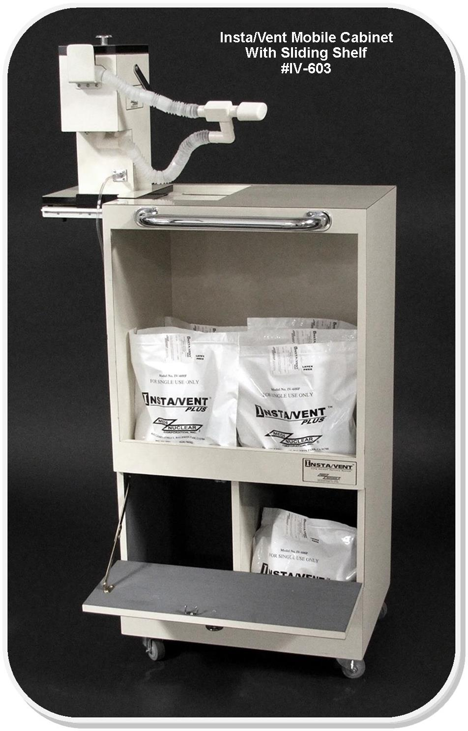Mobile Cabinets For Radioaerosol Delivery